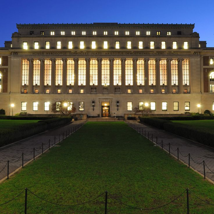 The 25 most beautiful college campuses in America - Columbia University, New York, New York