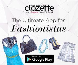 """Clozette Indonesia adalah the Ultimate App untuk para Fashionistas. Di dalam Clozette juga terdapat Ultimate Shopping dengan fitur """"Buy Similar"""". Dengan fitur """"Buy Similar"""" kamu dapat menemukan item yang kamu inginkan cukup dengan crop item yang kamu inginkan lalu klik """"Cari"""" dan kamu akan diberi berbagai pilihan produk yang serupa dengan apa yang kamu inginkan dari berbagai situs e-commerce baik situs e-commerce lokal maupun internasional. Selengkapnya disini http://www.openabout.com/SH1BA"""