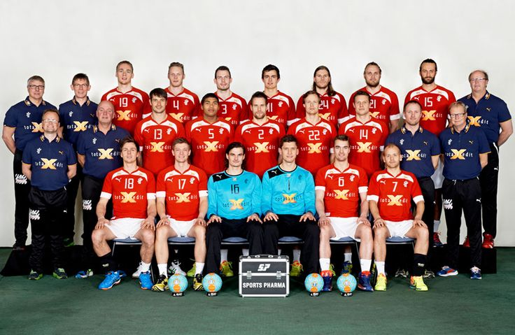 The Danish National Handball Team 2014 - the most popular national team in Denmark at the moment.