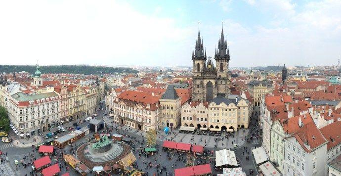 Prague, Praha, old Town square