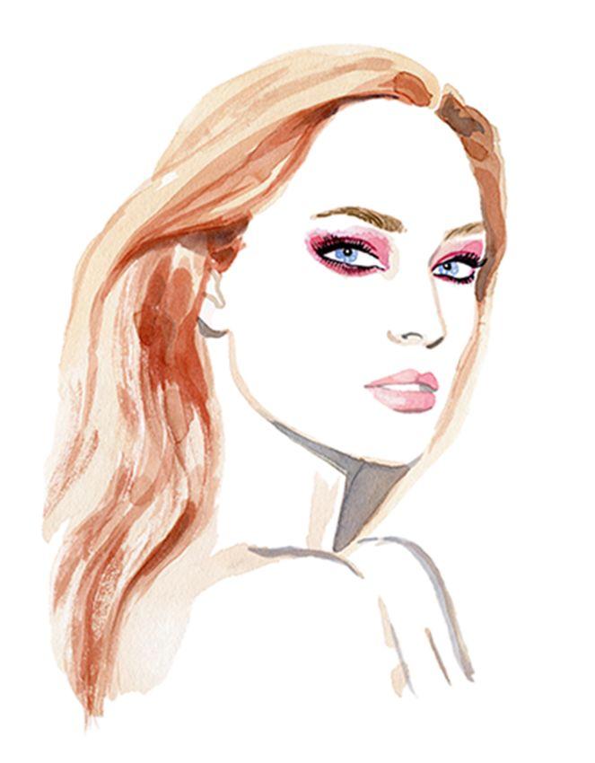 Beauty illustration by Irina Sibileva