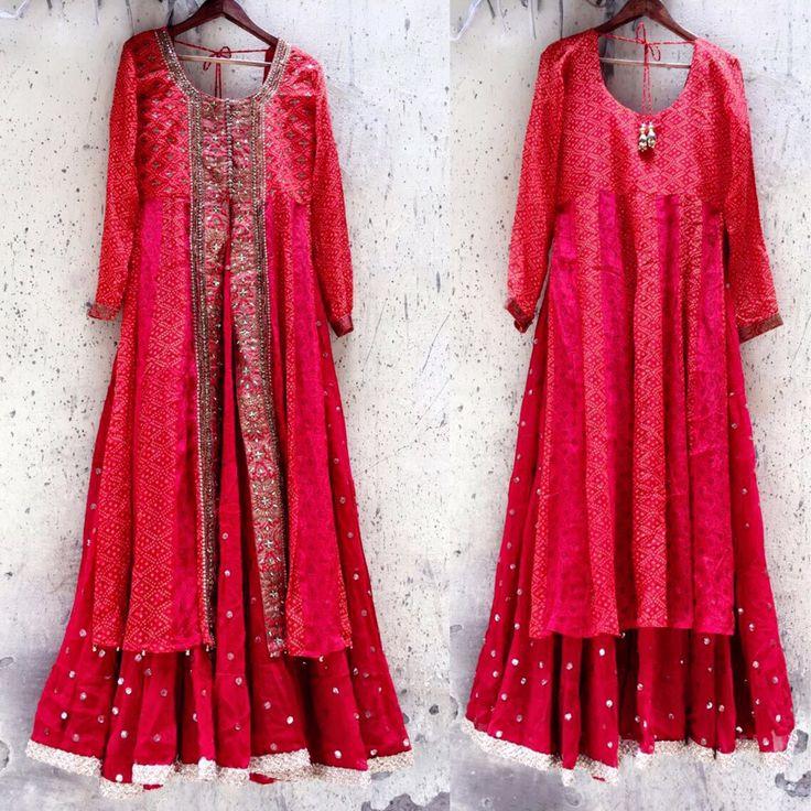 Bandhani indo western attire and glazed classy shade embellished and made appropriate this summer drippy season! @aainabyaditi #indianwear #indowestern #ethnicwear #details #bandhani #red #gharara #lehenga #latestcollection #shopnow #indianwedding #designer #designerwear #fashion #fashionista #fashiondesigner #weddinglook #weddingseason #weddingfashion #getthelook #outfitoftheday #delhi #delhifashion #dubai #dubaifashion #handembroidery #embellished #indianembroidery