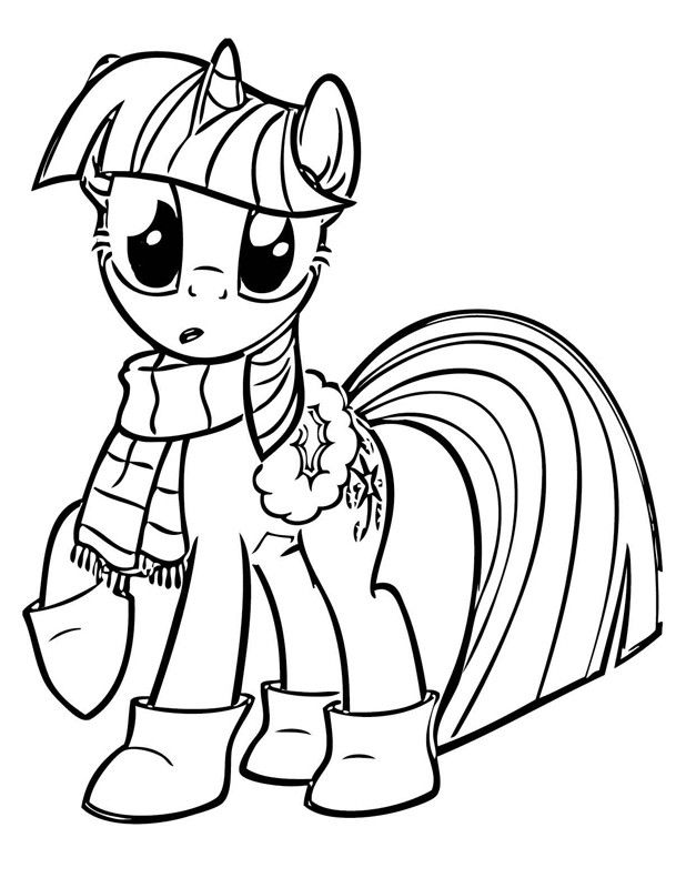 Twilight Sparkle Coloring Pages Best Coloring Pages For Kids My Little Pony Coloring My Little Pony Twilight My Little Pony Printable