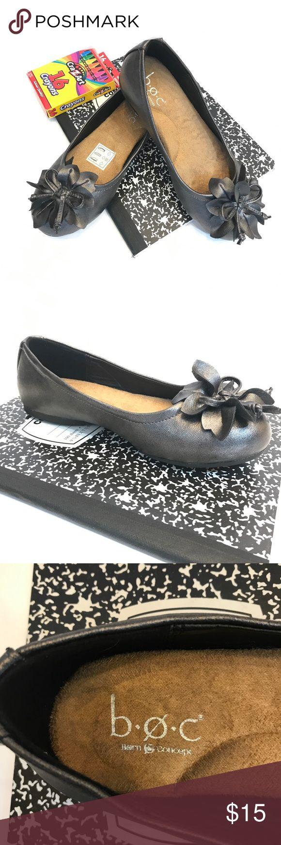 NWOB b.o.c. Girls Ballet Flats NWOB. B.O.C. Girls Ballet Flats, Sz 1. b.o.c. Shoes Dress Shoes