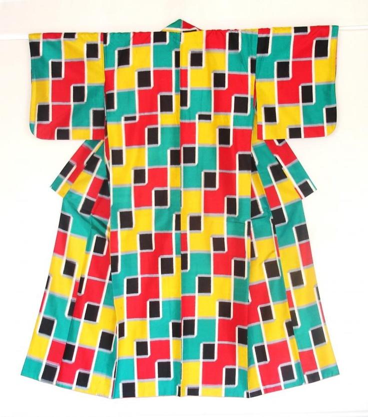 Meisen Kimono from the collection of Haruko Watanabe ~AmyLH~