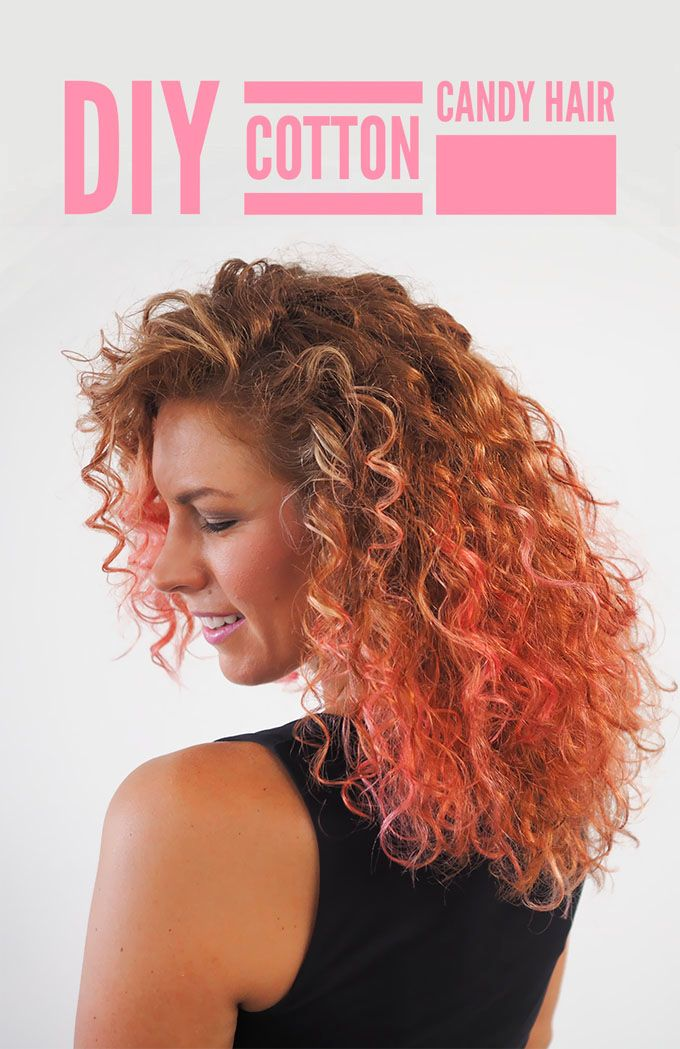 How to DIY hair colour at home - cotton candy dip dye hair  (+ GIVEAWAY!)