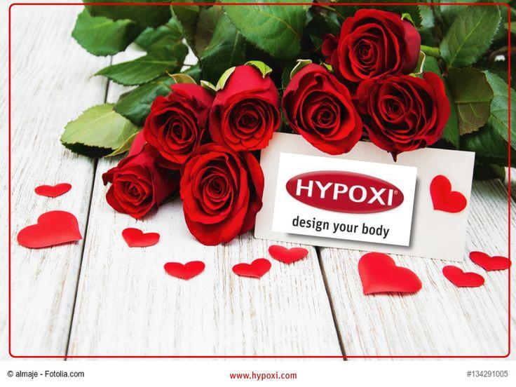 Heute ist Valentinstag!  Der Valentinstag gilt als Tag der Verliebten. Wir wünschen allen Verliebten und Liebenden einen schönen Tag. Machen Sie es sich gemeinsam schön! Nicht verliebt? - Dann gönnen Sie sich doch selbst was!  #abnehmen #valentinstag #geschenkgutschein #hypoxi #geschenk #blumen #gezieltefigurformung #bauch #beine #po