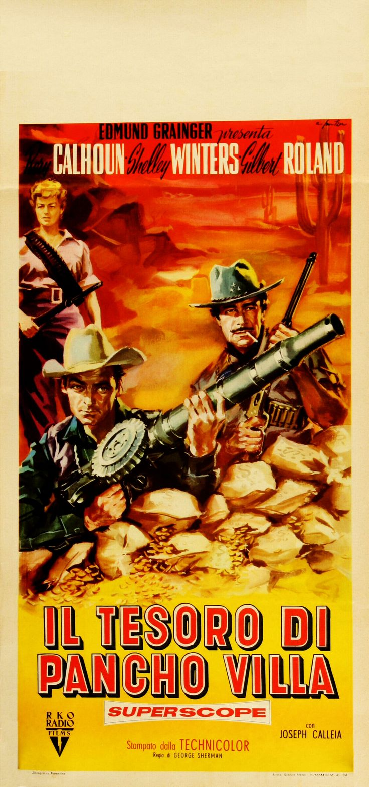 Movie The Treasure Of Pancho Villa