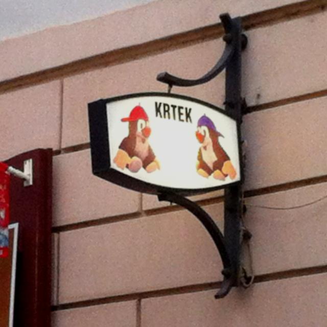 Praha, Krtek!