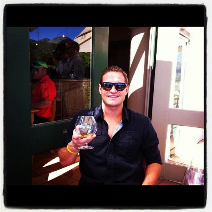 Dean wine tasring