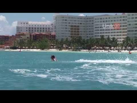 Flyboard in Cancun, Riviera Maya, Mexico