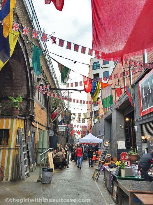 Maltby Street Market, London, Greater London