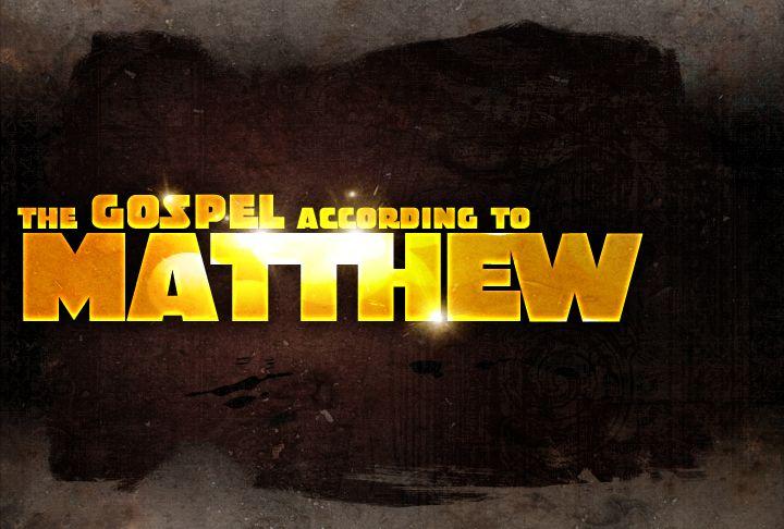 Gospel of Matthew sermon series | sermons | Pinterest ...
