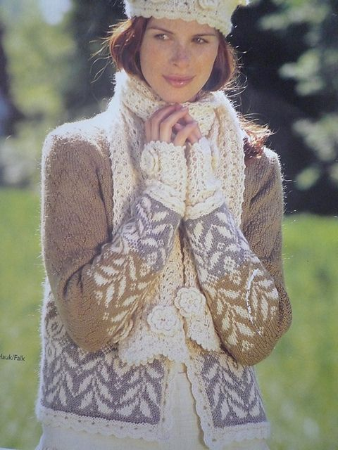 Ravelry: Project Gallery for 13803 Cardigan with Neck-Line Variations pattern by Dale of Norway / Dale Design