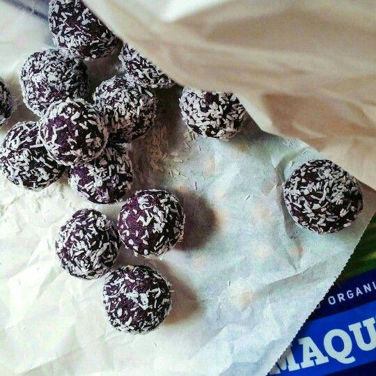 Maqui bliss balls