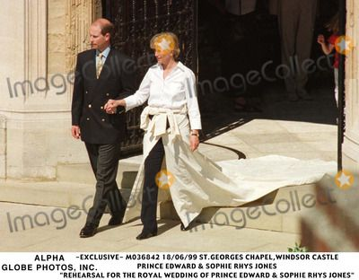 Sophie And Prince Edward Wedding Rehearsal