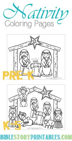 1774 best Printables images on Pinterest Print coloring pages - copy nativity scene animals coloring pages
