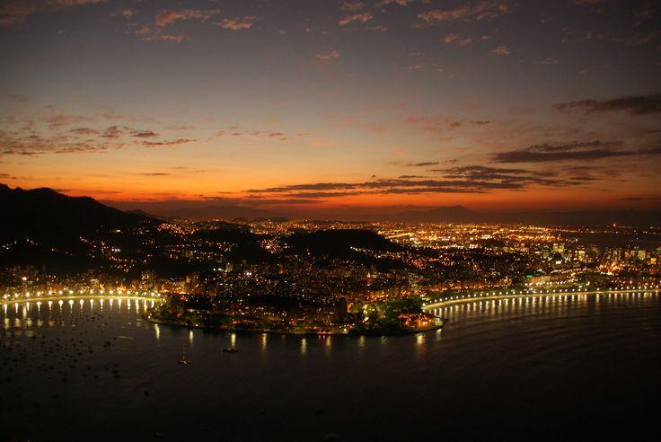 Rio de Janeiro #sunset #landscape #brasil #pandeazucar #honeymoon