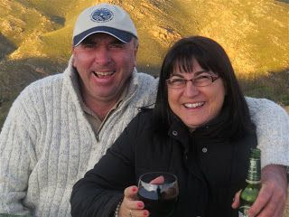 Karoo Hues: FAMILY VISIT   Vaughn and Chantal  visiting from t...