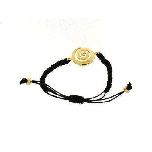 Spiral silver makrame bracelet greek jewelry by ThetisTreasures