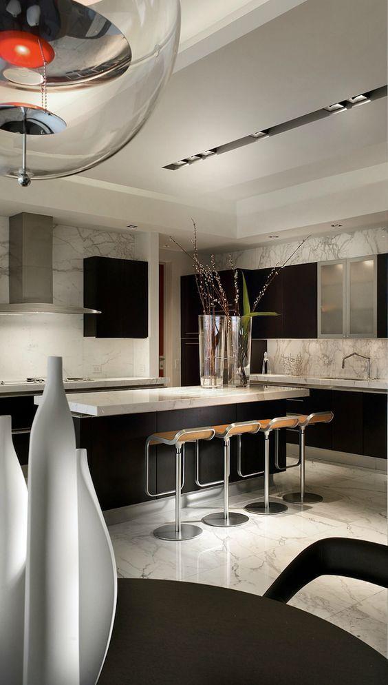 1000 ideas about modern kitchen designs on pinterest modern kitchens modern kitchen tables - Sleek kitchen world ...