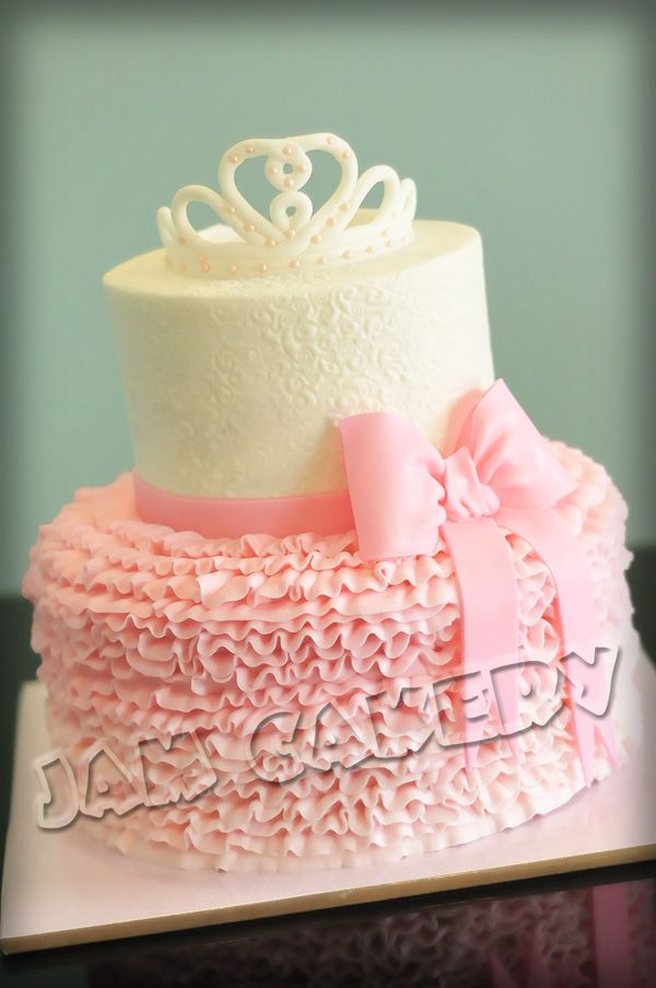 Ballet party cake