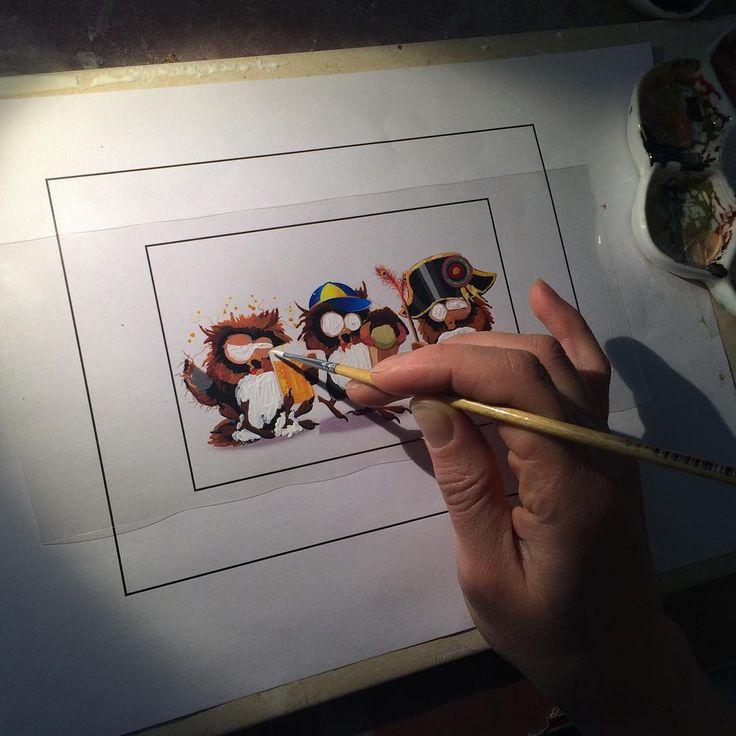 """Рисуем! Ответ на предположения про принтер, готовые шокотрансферы  и множество других вопросов типа: """"Как это она делает ...? #handpainting #olgapenioza #шоколад #chocolate"""