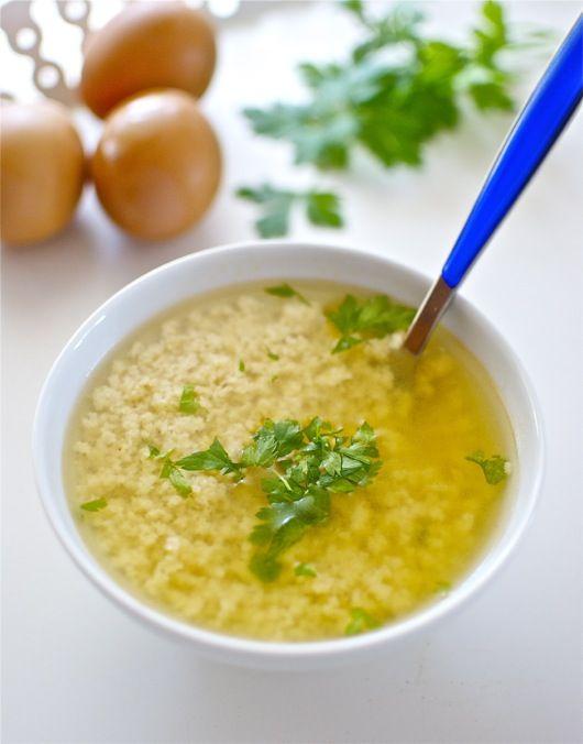 """Stracciatella, ricetta della minestra italiana con Bimby Bimby """"nel mondo"""
