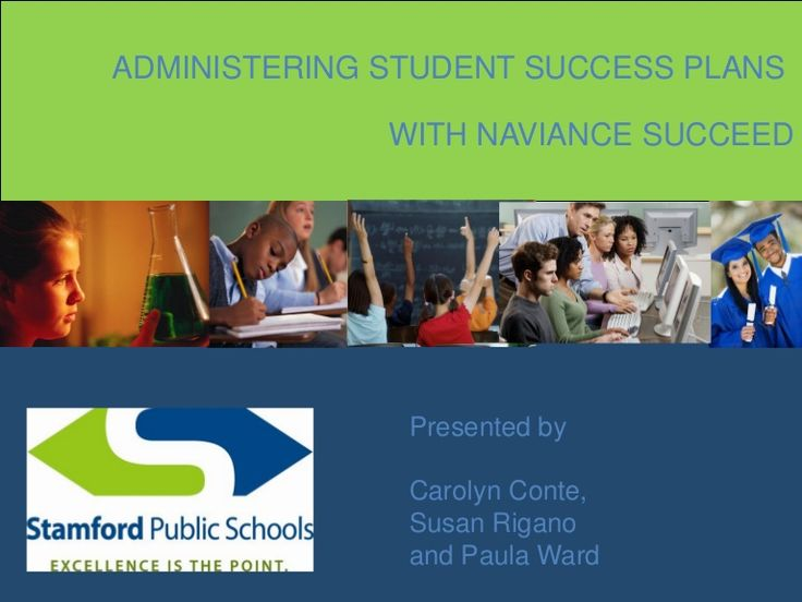 administering-student-success-plans-with-naviance by Naviance via Slideshare