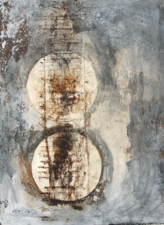 "Saatchi Online Artist: Scott Bergey; Mixed Media 2012 Painting ""Let It All Hang Out"""