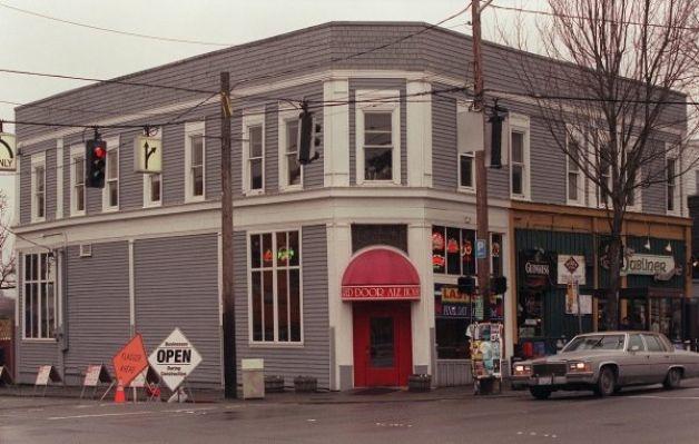 The original Red Door in Fremont