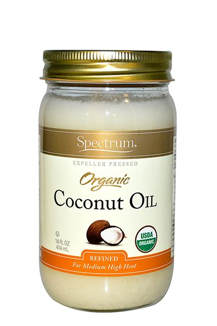 "Coconut Oil ""Warm [your jar of] coconut oil in hot water until it becomes a liquid. Then, apply to damp hair,"" he recommends. ""Leave on for at least 30 minutes — the longer, the better — and lastly, wash your hair using a gentle, sulfate-free shampoo."" Good riddance, dry scalp."