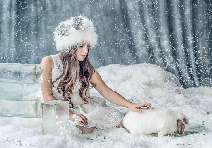 """MARY & rabbit MIOKARDO""    *Photographer, stylist, decorator: Looiza Potapova         *Tiara: Looiza Potapova    * Assistant photographer: Alexander Maligin    * LOOIZAPOTAPOVA.COM     * + 7 (926) 842-74-08"