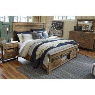 Shop For Signature Design By Ashley Sommerford Brown Storage Bed. Get Free  Shipping At Overstock · Furniture OutletOnline ...