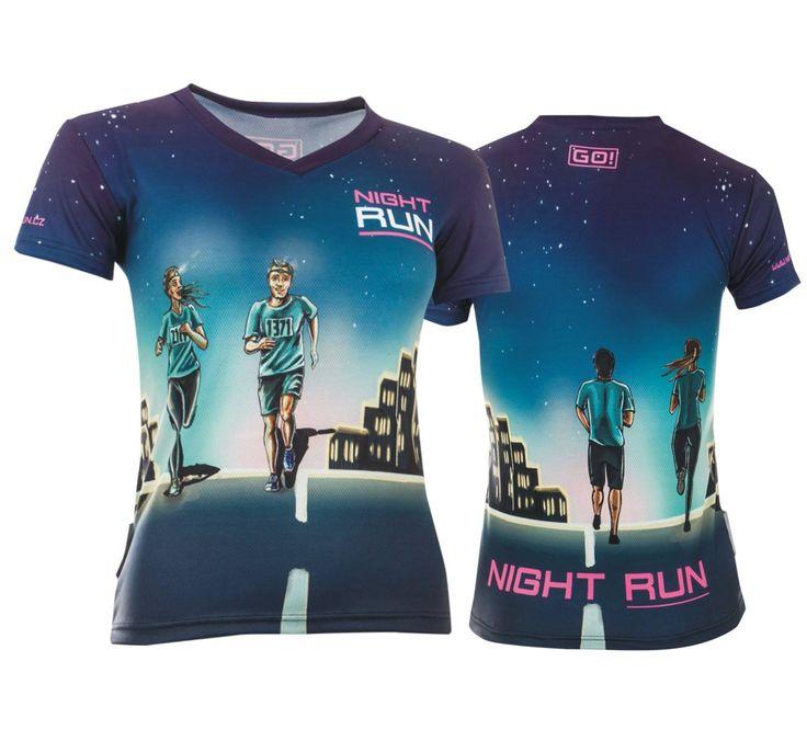 night run dress design