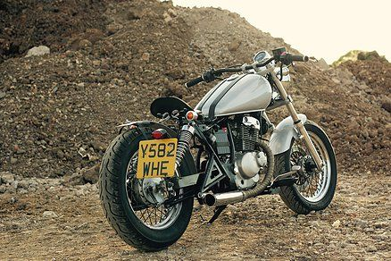 gz 125 bobber - Crafted by TwinThing- amazing what you can transform these bikes into