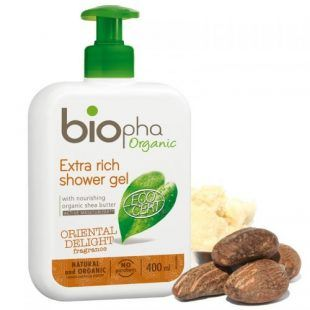 Żel pod prysznic ORIENTAL z masłem Karite BIOpha 400ml Toddlersi