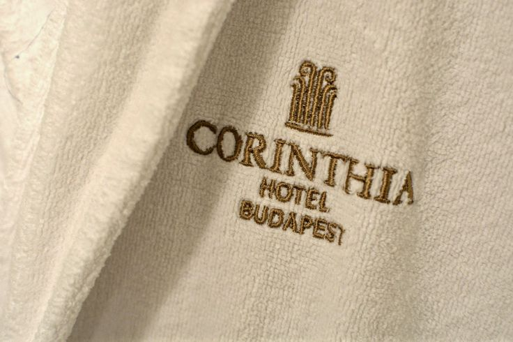The Corinthia Hotel Budapest robes