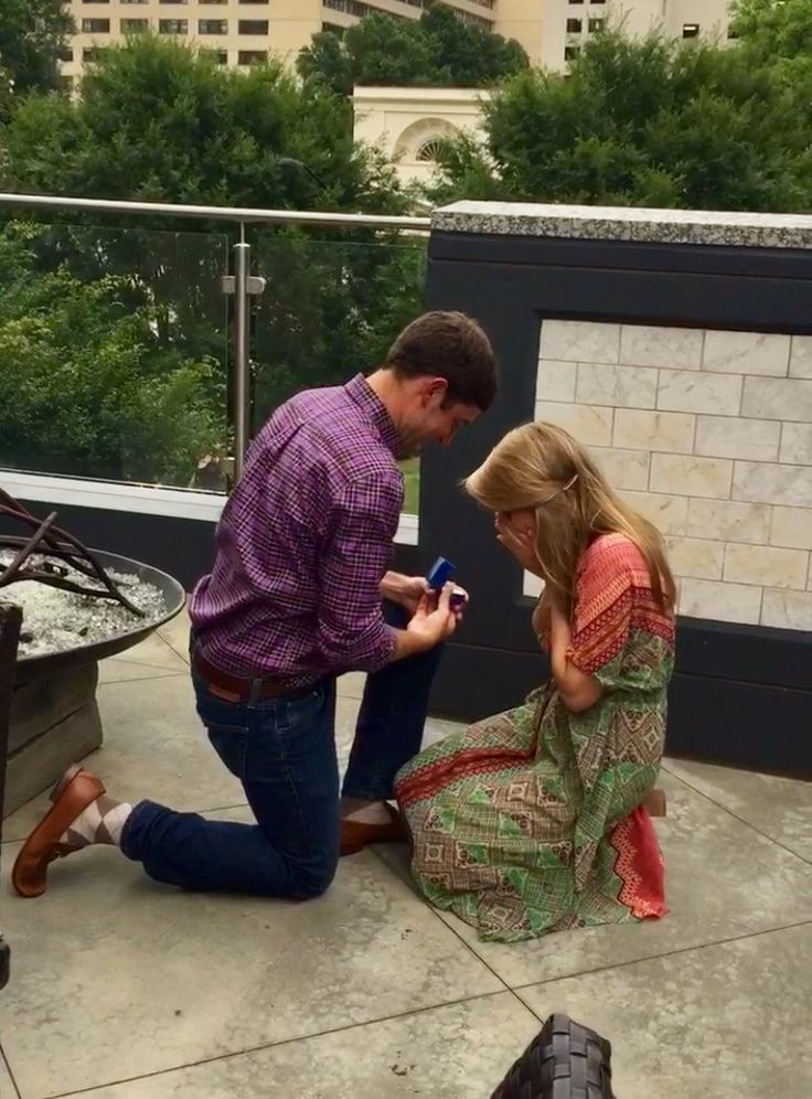 """It's """"Wedding Wednesday"""" and we have a special engagement to share... Congratulations to Ryan Reethof & Nicole Peaper! 👏💍  Ryan proposed to Nicole on June 18, 2016 at Community Smith in Midtown Atlanta. Nicole shared the proposal story with us: """"I was working the NBA Finals and after I returned from 2 weeks on the road Ryan made reservations at a restaurant, Community Smith, to celebrate the end of the NBA season. When we arrived Ryan suggested we get a drink at the bar and head up to the…"""