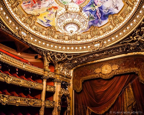 Inside Opera Garnier Paris photography french by FlaviaMorlachetti
