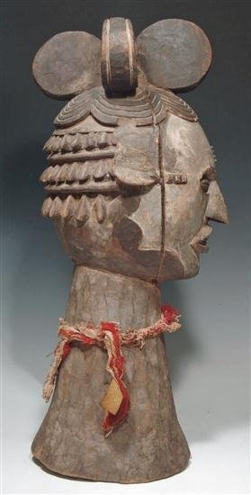 Dance mask, Africa, country unknown