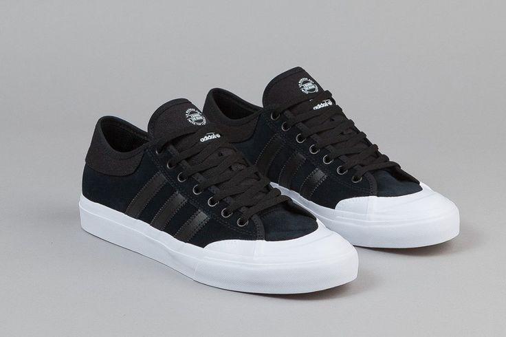 "adidas Skateboarding Matchcourt Low ""Core Black/White"" - EU Kicks: Sneaker Magazine"