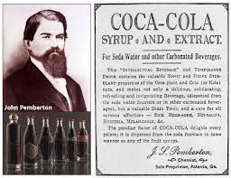 March 29,1886 – Dr. John Pemberton brews the first batch of Coca-Cola in a backyard in Atlanta.