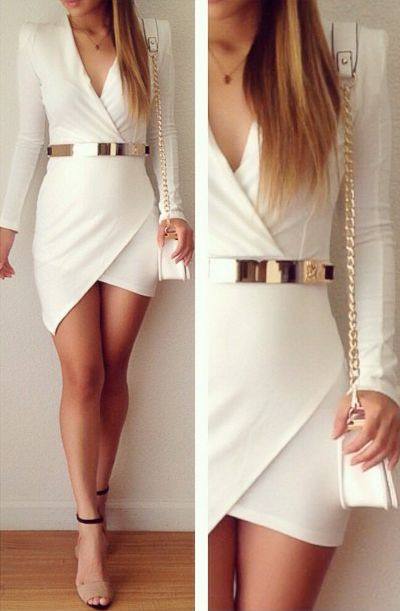 White + gold, if only I was skinny enough to wear it