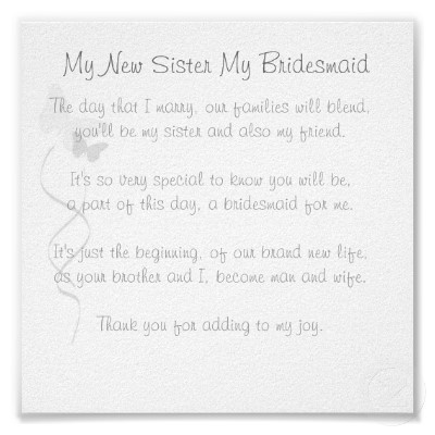 letters to your bridesmaids | Will you be my bridesmaid poem sites - all will you be my