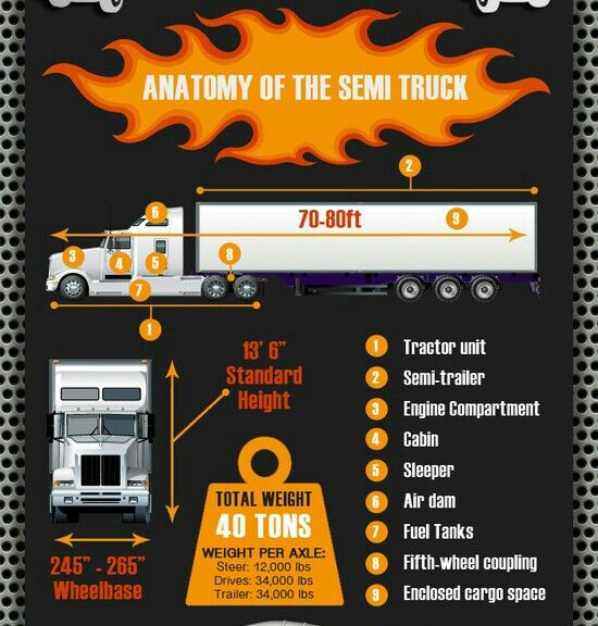 Anatomy Of A Semi Trailer : Best images about trucker quotes on pinterest trucks