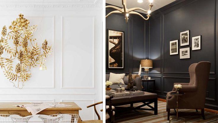Советы дизайнера: 5 самых распространённых приёмов декорирования интерьера гипсовыми молдингами. Фото №5