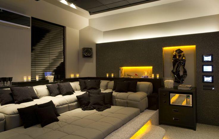 Home theater - Projeto: Daniele Guardini e Adriano Stancati