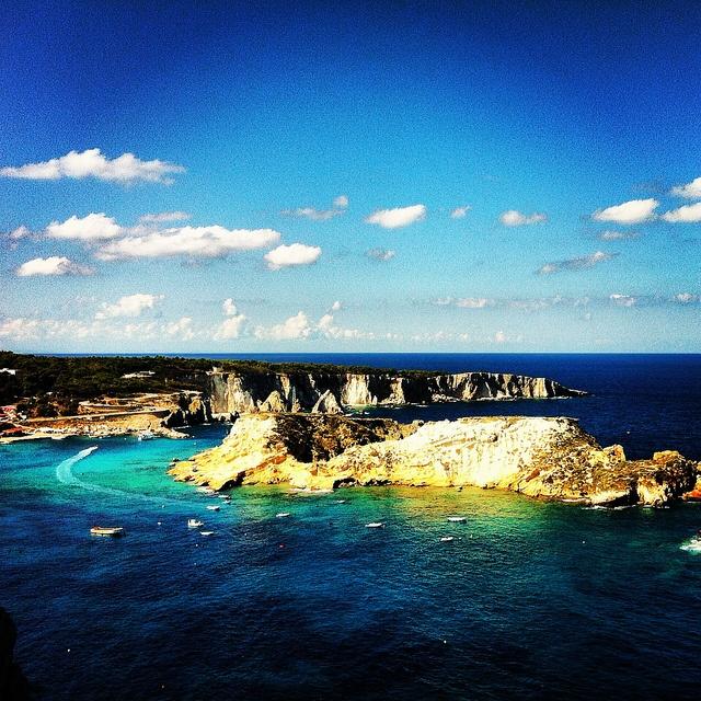 Il panorama dalle Isole #Tremiti :) #garganoecotour  :O