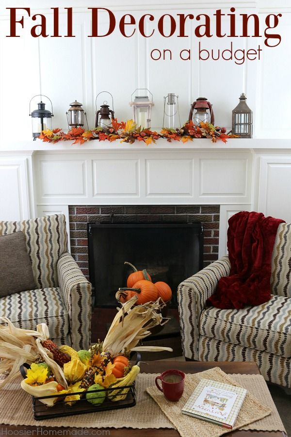 408 best fall decorating ideas images on pinterest fall decorating fall displays and fall mantels. Black Bedroom Furniture Sets. Home Design Ideas